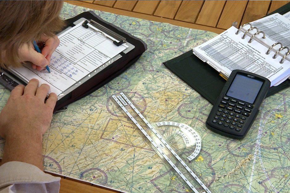 Advanced Navigation Course – Aiming Higher – Flight training