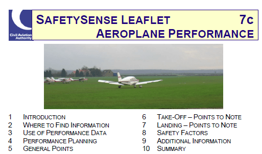 Other planning tools – Aiming Higher – Flight training